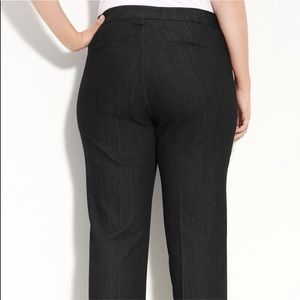 NYDJ Navy LiftTuck Full Length Pockets PANTS 18W